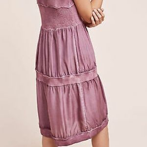 Eloise Dresses - Anthropologie Silk and Sweater Chemise Dress